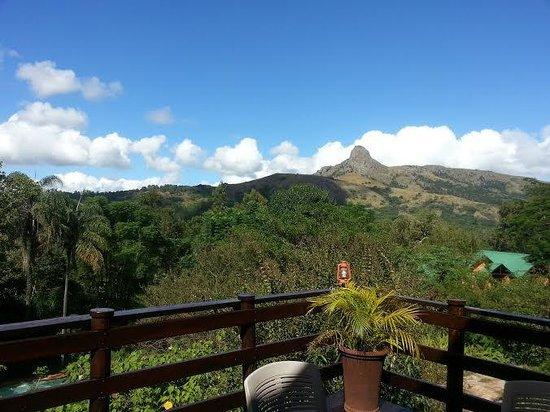 Mantenga Lodge: Views from hotel