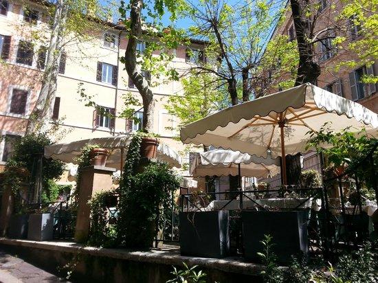 Santa Lucia Ristorante: Belle terrasse
