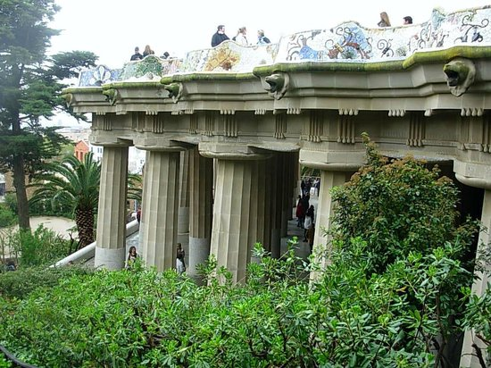 Parc Güell : A different style of architecture