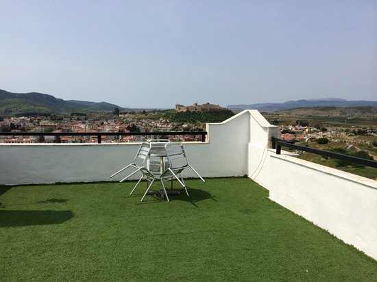 Villa Panaroma : The large terrace