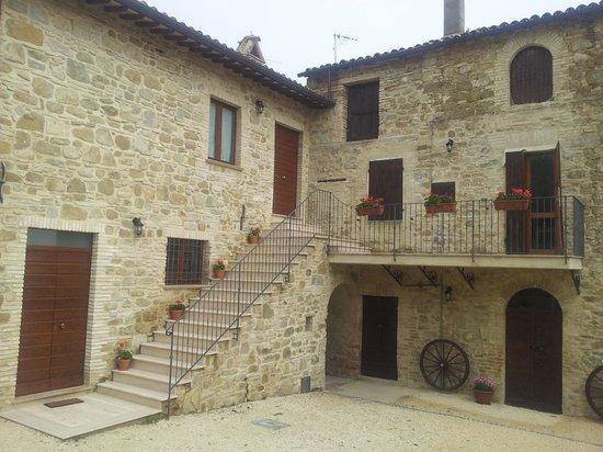 Villa Colle di Rocco : Esterno Lato Collina