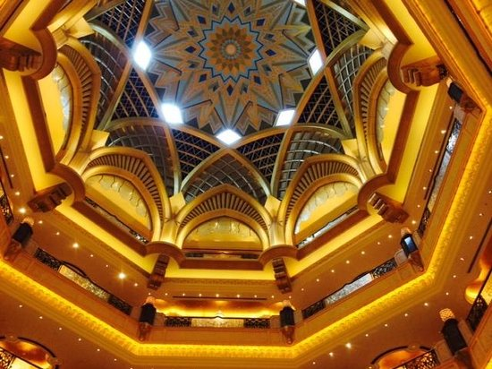 Emirates Palace Hotel: Bling central