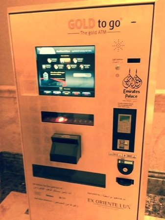 Emirates Palace : All that glisters....is gold at this place