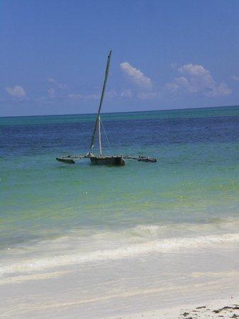 Veraclub Zanzibar Village: Imbarcazione tipica