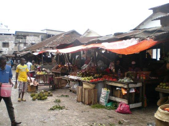 Veraclub Zanzibar Village: Mercato di Stone Town