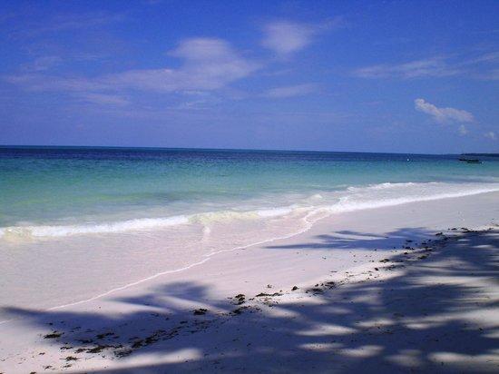 Veraclub Zanzibar Village: Spiaggia di Kiwengwa con alta marea