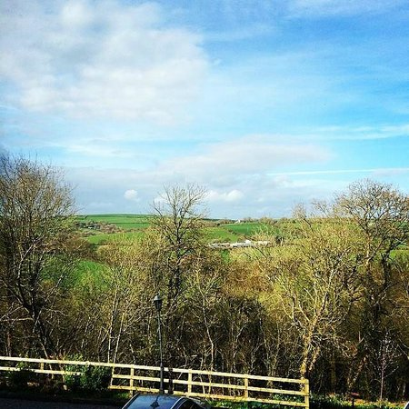 Llety Cynin: View from bedroom window