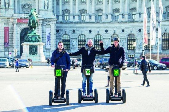 Vienna Explorer Tours & Day Trips: Segway Vienna