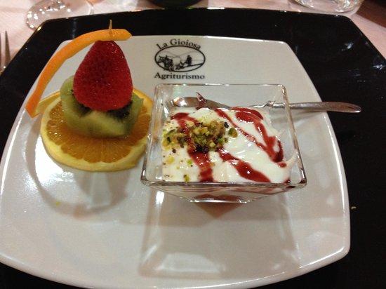 La Gioiosa Agriturismo: Dessert