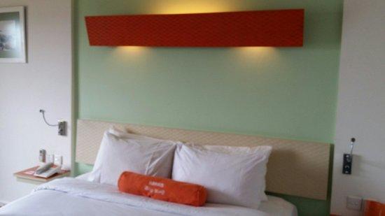 HARRIS Hotel Batam Center: Snapshot of the room I stayed