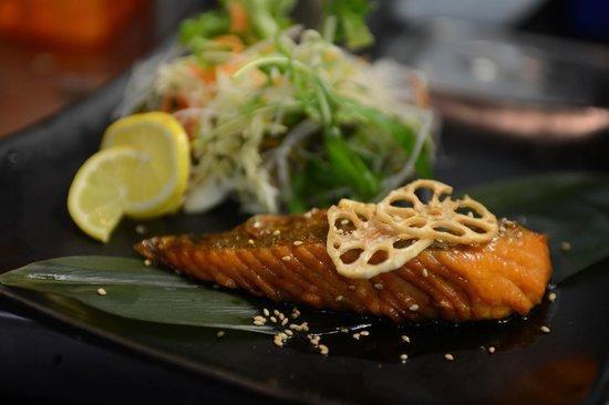 Ramen Takara: Teriyaki Salmon