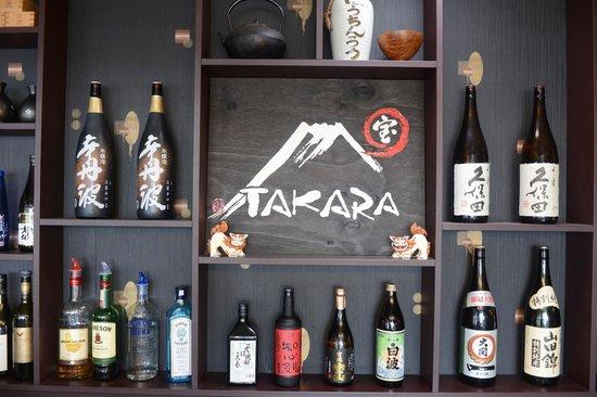 Ramen Takara: Wide range of sake