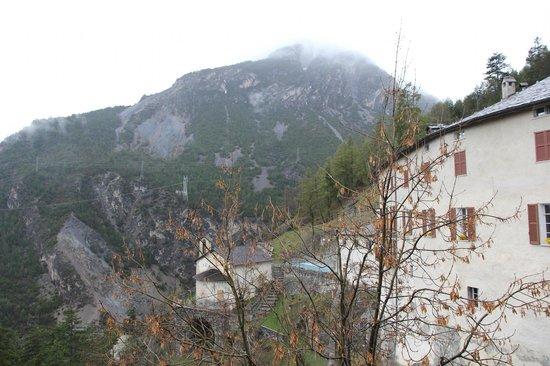 La piscina esterna 2 picture of bagni vecchi di bormio for Terme di bormio bagni vecchi