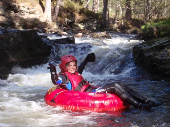 Full On Adventure: River Tubing for 8yrs and up.