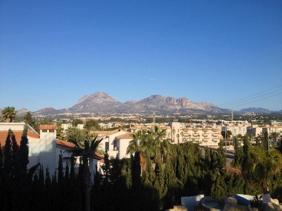 Hotel Rober Palas: View from our room window