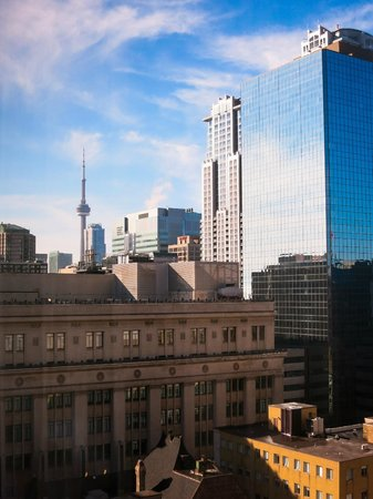 Courtyard by Marriott Toronto Downtown : View from Room