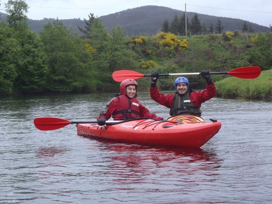 Full On Adventure: Kayak Touring down the river Spey 1-5 day trips.