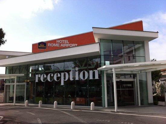 Best Western Hotel Rome Airport: Reception