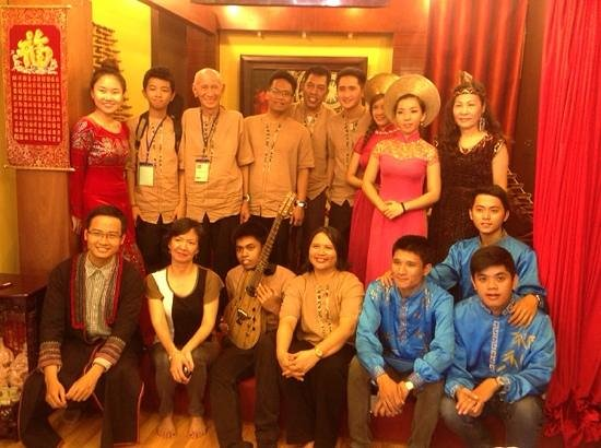 The Touch of Masters' Hands: The Vietnamese Authentic Cultural Show: With K-Seven band from Phillipines on 22-Apr-2014