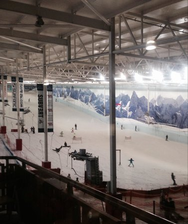Chill Factore : View from the cafe