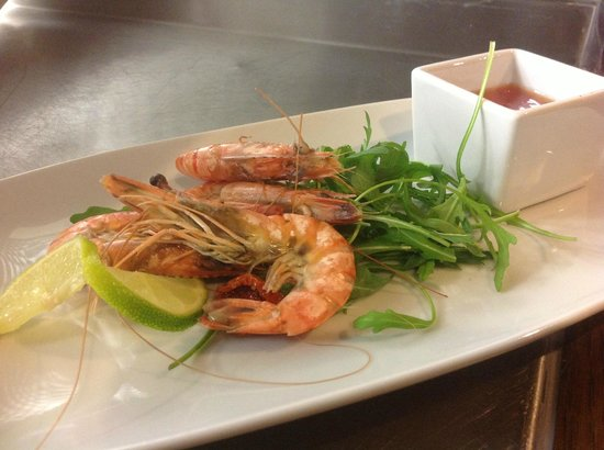The Baker's Arms: Our Prawn Starter