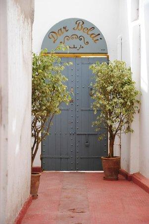 Dar Beldi : entrance gate