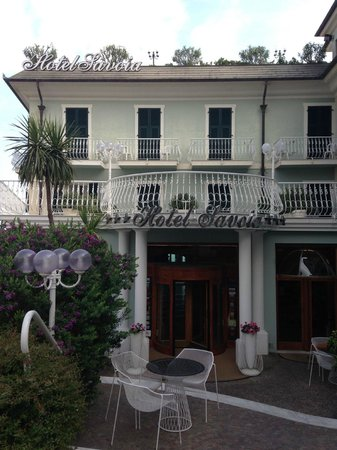 Hotel Savoia: Hotellets entre