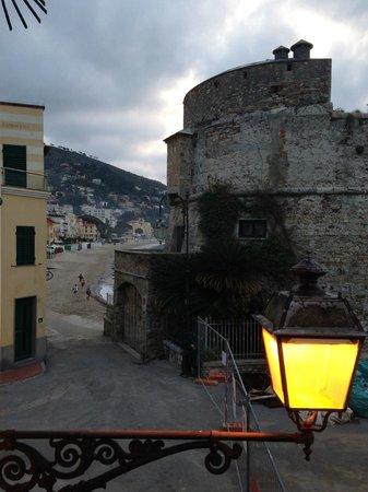 Hotel Savoia: Utsikt åt sidan från balkongen