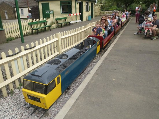 Swanley, UK : Miniature railway