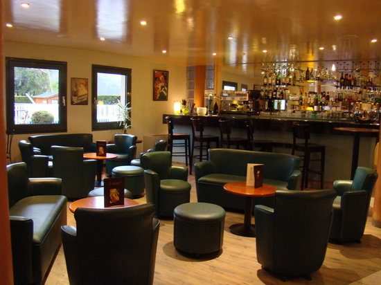 Logis Le Vieux Logis : Le bar