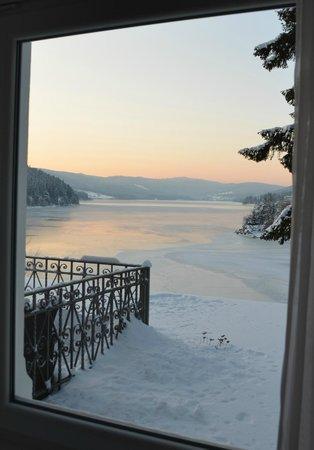 Seehotel Hubertus: Zimmeraussicht