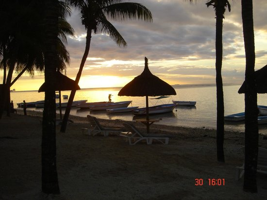 Cocotiers Seaside Boutik Hotel: Un coucher de Soleil!!