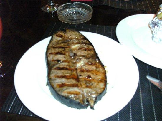 Blue Ribbon Dive Resort : marlin from fri night bbq