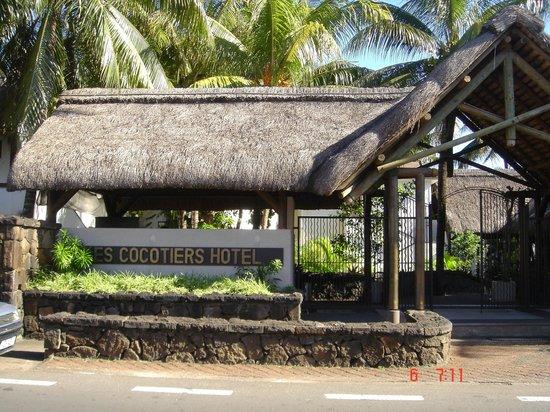 """Cocotiers Seaside Boutik Hotel: Entrée de l'Hôtel """"Les Cocotiers"""""""