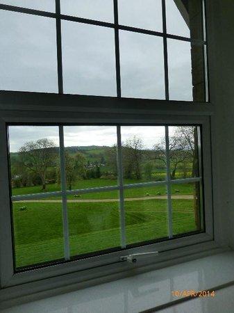The Pilgrim Hotel: Through the bedroom window