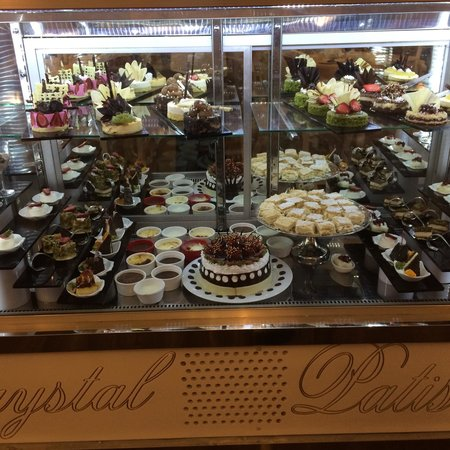 Crystal Palace Luxury Resort & Spa: Patisserie at Crystal Palace, wonderful!