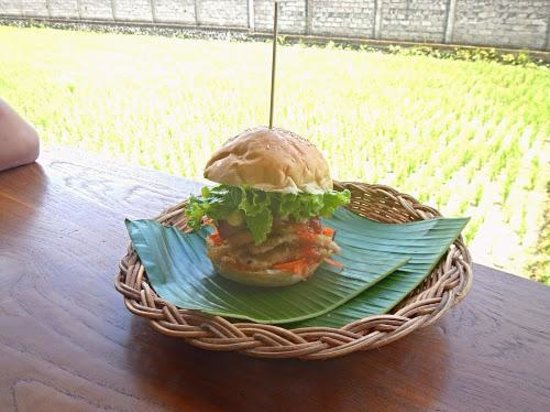 Dupa Drupadi : Chicken schnitzel swich way at Dupa
