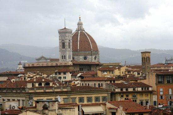 Palazzo Magnani Feroni: The Duomo from the terrace