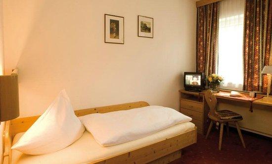 Gemütliches Einzelzimmer im Hotel Bierwirt