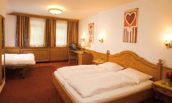 Dreibettzimmer im Hotel Bierwirt