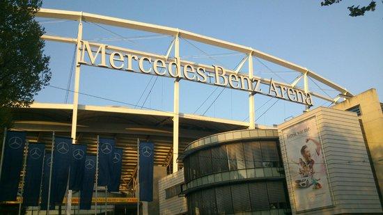 Hilton Garden Inn Stuttgart NeckarPark: Mercedes Benz Arena Stadio