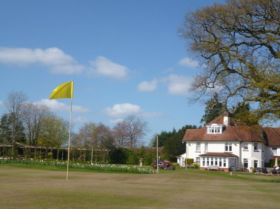 Park House Hotel & Spa: View from the golf course