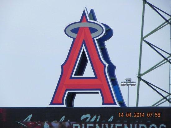 Clarion Hotel Anaheim Resort: Angels Stadium Logo Sign