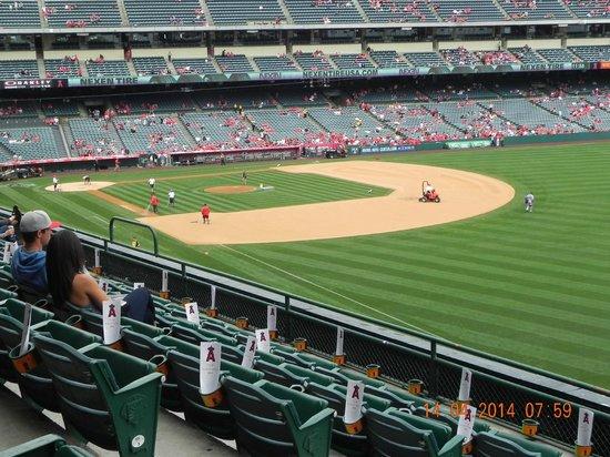 Clarion Hotel Anaheim Resort: Inside The Angels Baseball Stadium