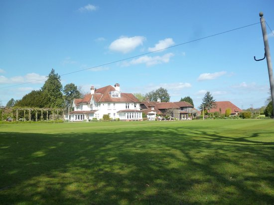 Park House Hotel & Spa: View from the other side of the golf course