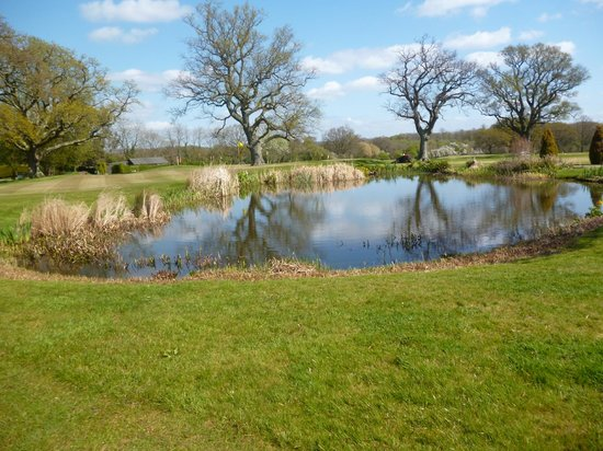 Park House Hotel & Spa: Water feature on the golf course