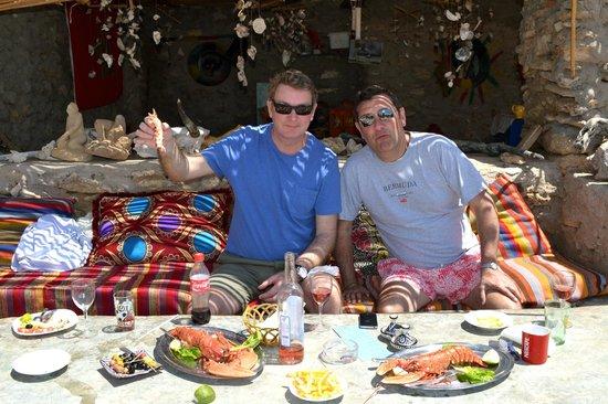 Rebali Riads : Abdullah's Seafood/Beach Bar