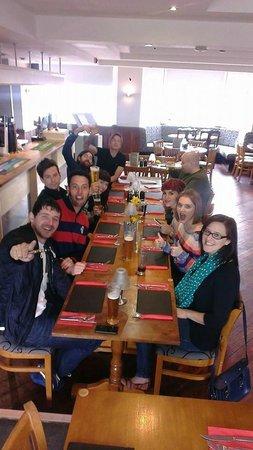 The Saracen's Head Steakhouse: Birthday vibes!