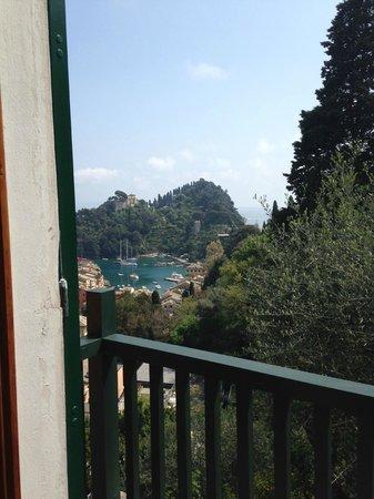 B&B Tre Mari Portofino: Utsikt från rummet/balkongen