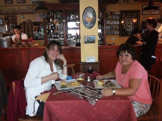 La Petite France: Disfrutando regio almuerzo